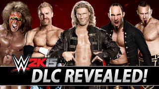 WWE 2K15: All DLC Revealed! Showcase Packs, NXT, WCW, Legends & More!