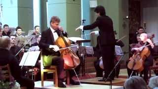 Robert Nagy spielt das Cellokonzert h-Moll op. 104 von Antonin Dvorak