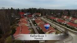 Ilmakuvausesittely Kellarikuja 1, Vantaa. Remax Elegance