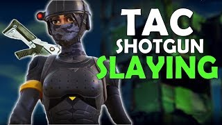 IS TACTICAL SHOTGUN GOOD BY ITSELF? | PRO GAMEPLAY | 17 KILLS - (Fortnite Battle Royale)