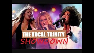 X Factor - The Vocal Trinity Showdown: Whitney,Celine & Mariah