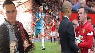 CRACKS en el Derby de Manchester. Guardiola abraza a Mourinho y enfada a Rooney