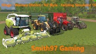 Silage - Waimea District - NZ Style - Farming Simulator 15
