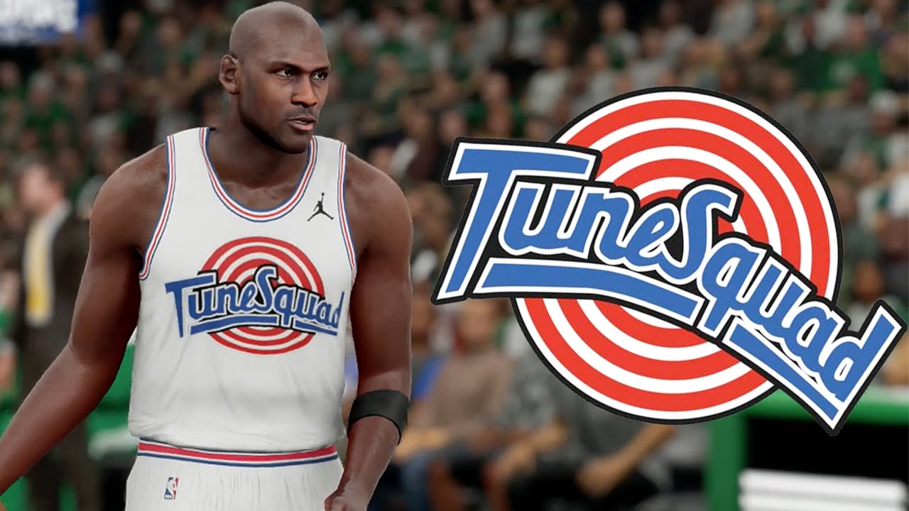 low priced c7cd1 4ccf6 NBA 2k16 - The Tune Squad #1 - Michael Jordan, Charles Barkley, and More!