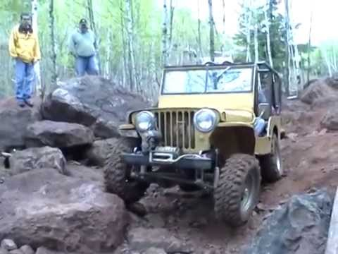 Build A Jeep >> 1946 Willys CJ2A Jeep with Dauntless V 6 Old Iron Rock ...