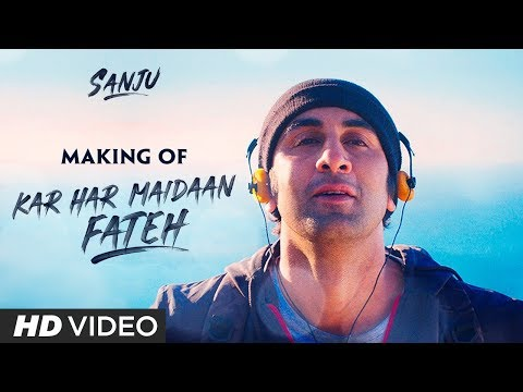 SANJU: Kar Har Maidaan Fateh Song Making | Ranbir Kapoor | Manisha Koirala | Rajkumar Hirani