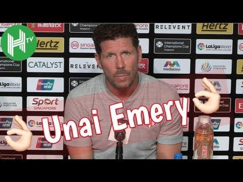 Diego Simeone: Unai Emery is an extraordinary manager