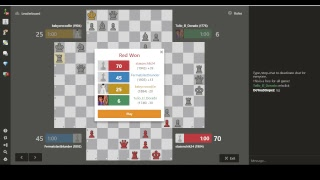 4 PLAYER CHESS - 1900+ and on my way  to Leaderboard. Highrated games MADNESS