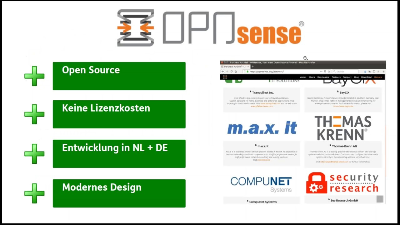 OPNsense - die Open Source Firewall I Wissen was drinsteckt