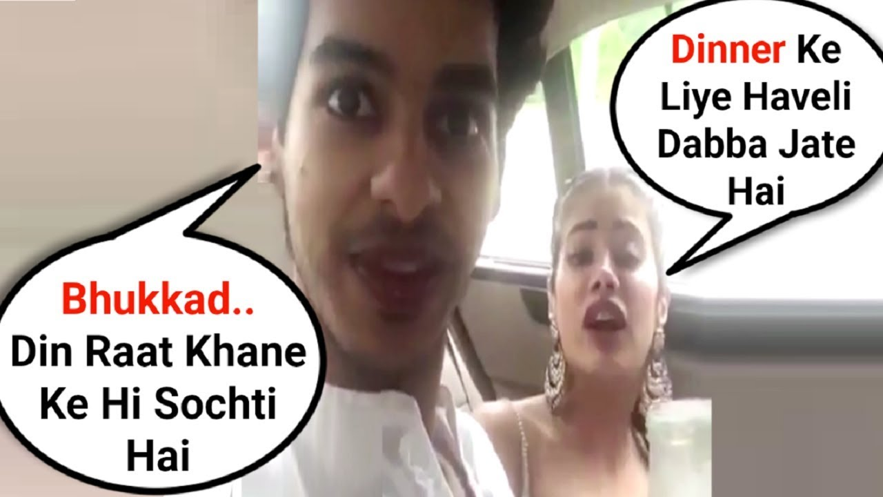 Jhanvi Kapoor And Ishaan Khattar Funny Video In Car At Dhadak Promotion