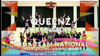 2Nd Place I Queenz Cheerleaders I @The A Team NCC 2018 [@Neoskylight_Media]