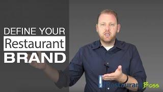 Restaurant Marketing [Define your Restaurant Brand]