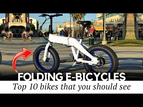 11 Electric Bicycles With Folding Frames You Should Buy (Prices And Specifications Compared)