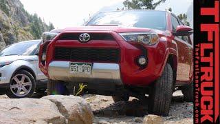 Toyota 4Runner vs Range Rover Evoque Off-Road Mashup Review (Part 2 of 2)