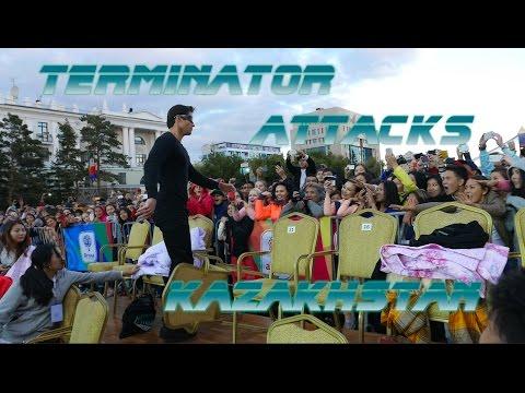 A Real  Life Terminator Attacks Kazakhstan
