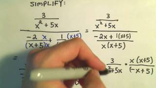 Simplifying Complex Fractions - Ex 2