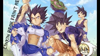 Dragon Ball Z (Full amv) Linkin Park - Faint Remix