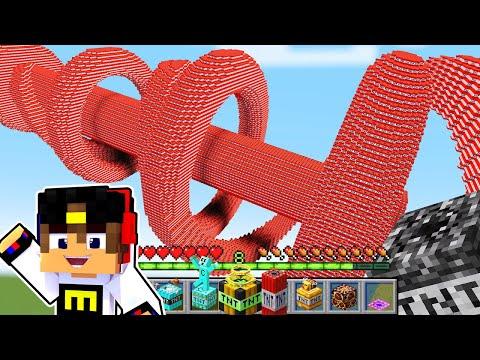 Майнкрафт но у Меня Супер ТНТ ! Девушка НУБ И ПРО Видео Троллинг Minecraft