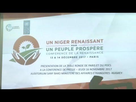 Niger, LANCEMENT DU PLAN DÉVELOPPEMENT 2017-2021