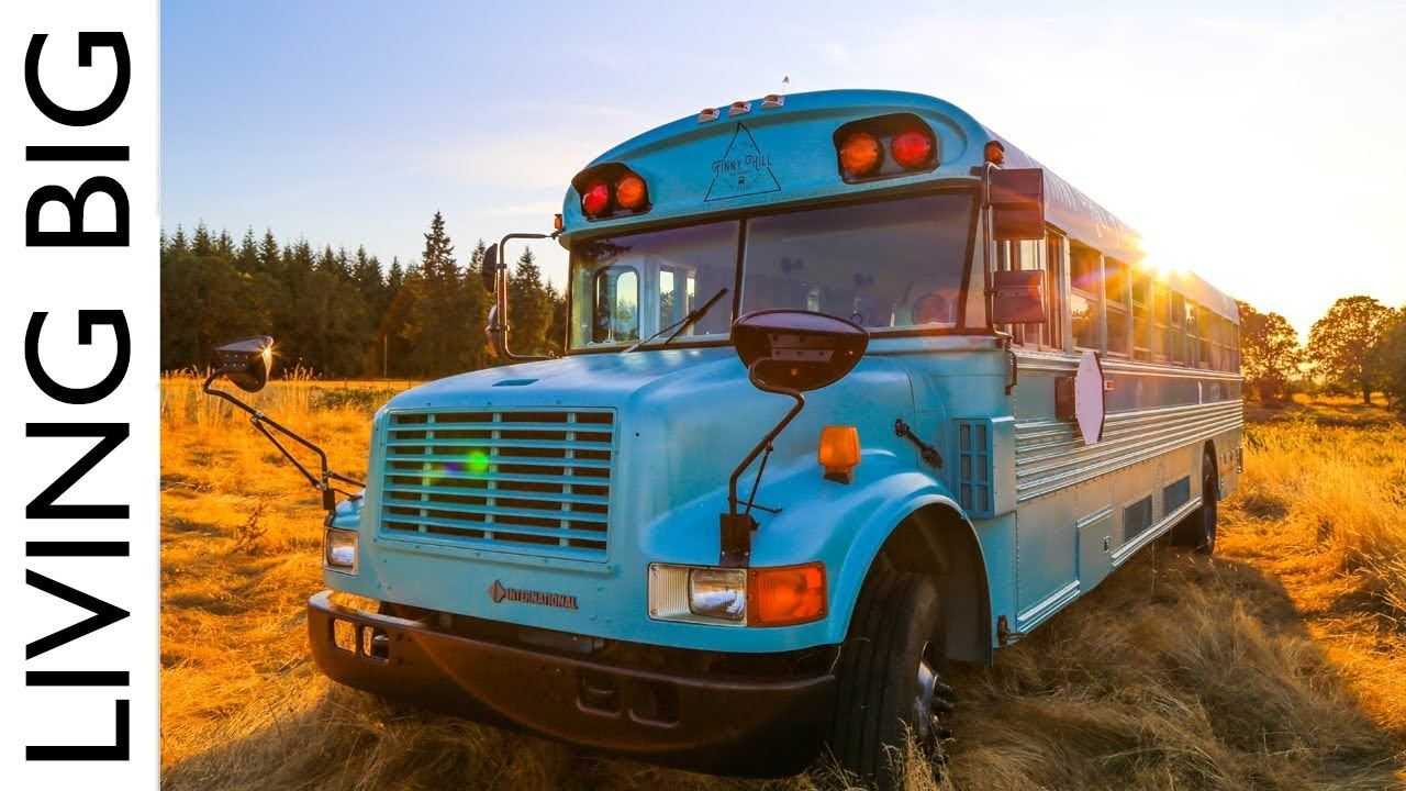 School Bus Converted Into Stunning Off-Grid Home and Mobile ...
