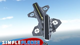 BEST PLANE IN THE WORLD? (Simpleplanes Gameplay)