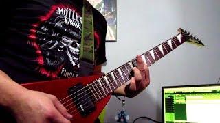 Скачать Accept Die By The Sword Guitar Cover By JurgenRegenzeit