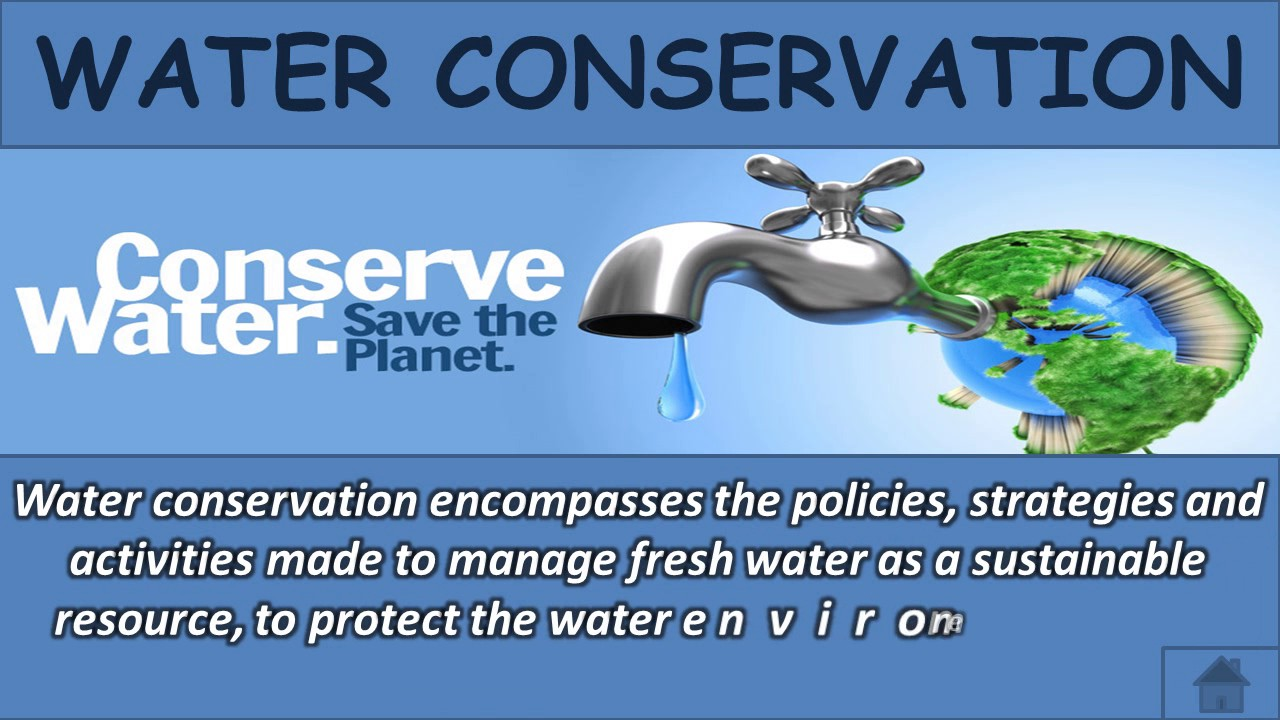 why to conserve water power point presentation youtube