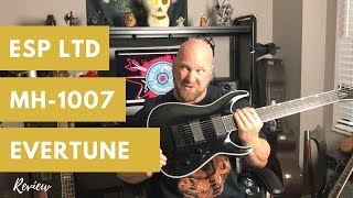 ESP LTD MH-1007 EverTune Review (7 String Guitar for Metal)