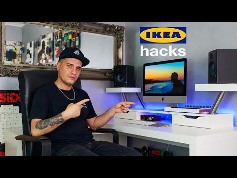 POSTAZIONE DA EDITING & GAMING | IKEA HACKS
