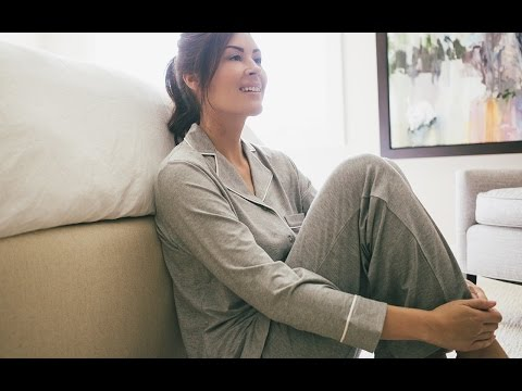 Luxe PJs that whisk away moisture.