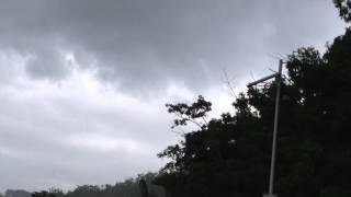 Nube Embudo (Funnel Cloud) en Añasco, Puerto Rico (in Añasco, Puerto Rico)