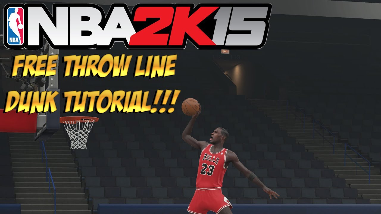 how to do the air jordan dunk on 2k15