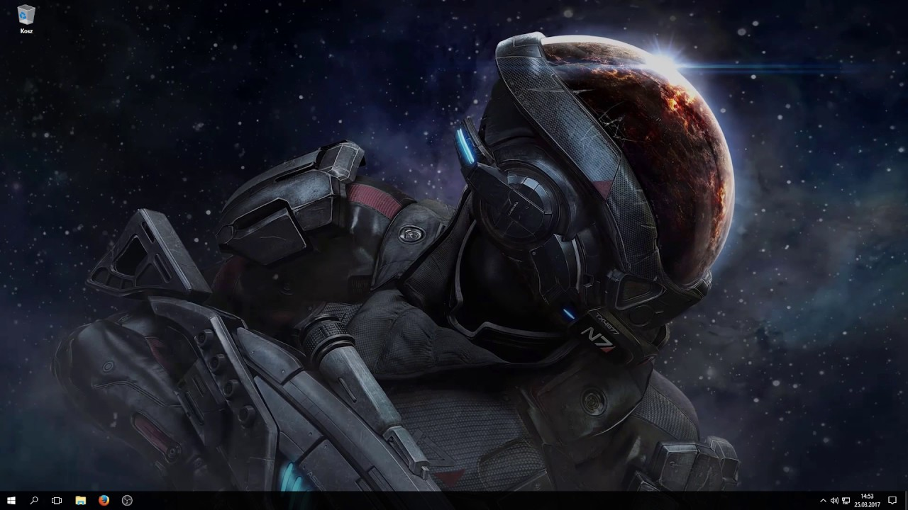 Wallpaper Engine - Mass Effect Andromeda - YouTube