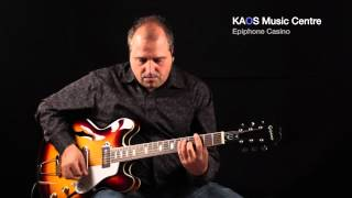 Download KAOS Gear Demo - Epiphone Casino MP3 song and Music Video