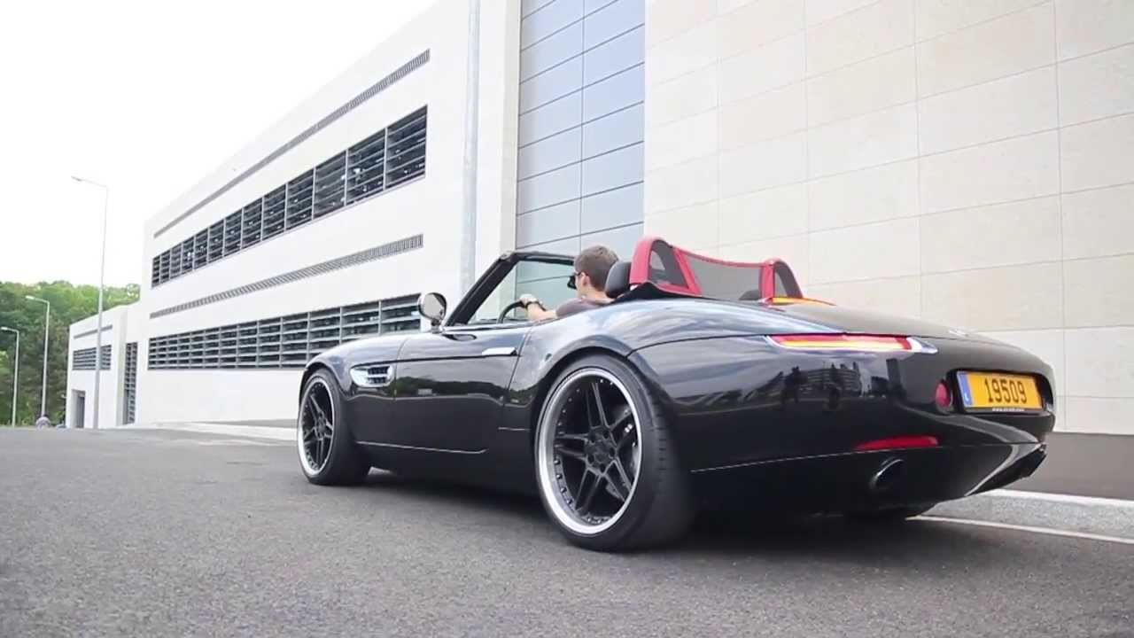 Bmw Z8 Ac Schnitzer Drive And Hard Acceleration Youtube