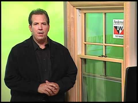 Anderson Replacement Windows >> Andersen 400 Series Tilt-Wash Double-Hung Insert Window Makes Replacement Easy - YouTube