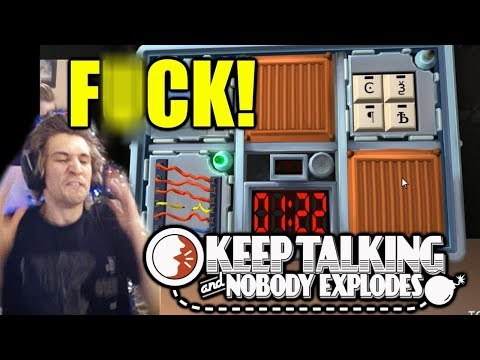 xQc and Moxy Play Keep Talking and Nobody Explodes | with Chat! (MOST HILARIOUS CONTENT)