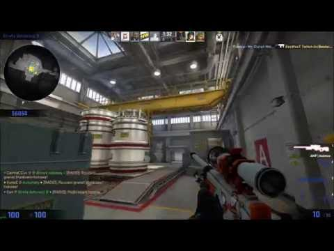 #7 Nuke Ace with AWP - Counter-Strike: Global Offensive