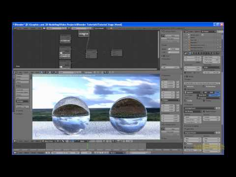 Blender Cycles Material Tip: Refraction with Fresnel