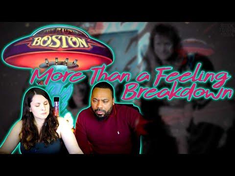 BOSTON More Than A Feeling Reaction!!!