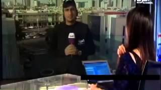 سهير القيسي مذيعة العربية بالملابس الداخلية عالشاشة