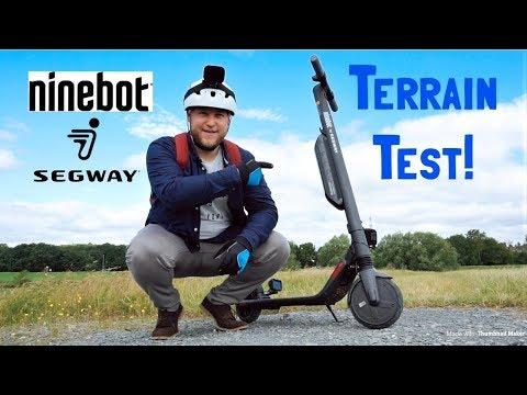 NineBot Segway ES4 Durability & Terrain Testing!