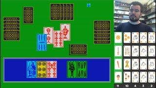 TUTE (ZX Spectrum) - El clásico juego de cartas en 8 bits || GAMEPLAY en Español