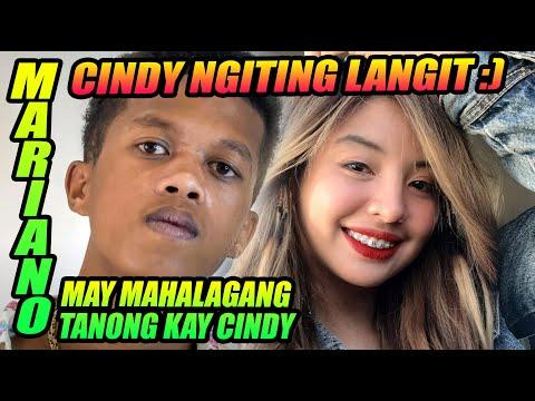 MARIANO MAY MAHALAGANG TANONG KAY CINDY | SY TALENT ENTERTAINMENT | MARIANO G | REACTION