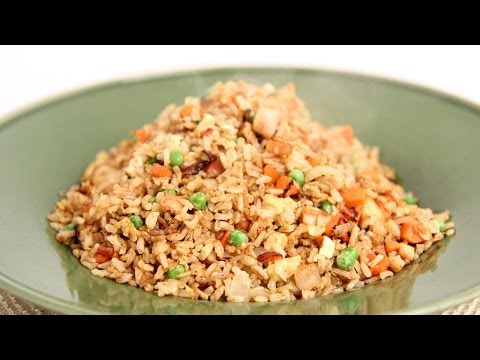 Fried Brown Rice Recipe - Laura Vitale - Laura in the Kitchen Episode 702