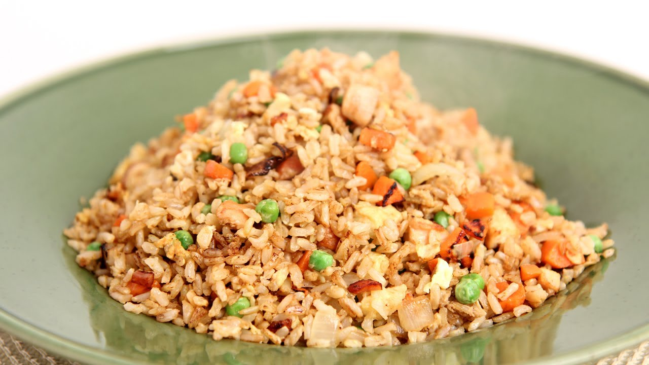 Fried Brown Rice Recipe - Laura Vitale - Laura in the Kitchen Episode ...