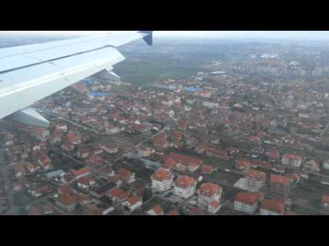 Приземление в Белграде. Рейс из Москвы