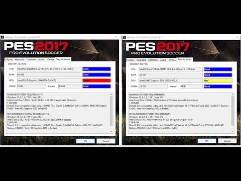 Mungkin sebagian pengguna sistem operasi ada yang pernah mengalami Pro Evolution Soccer settings has.