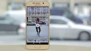 Функции камеры. Замедленная съемка на Galaxy S6