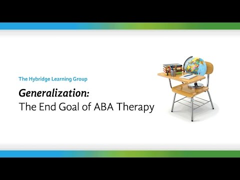 What is Generalization? Examples of Generalization and How ABA Therapy Helps Autistic Children